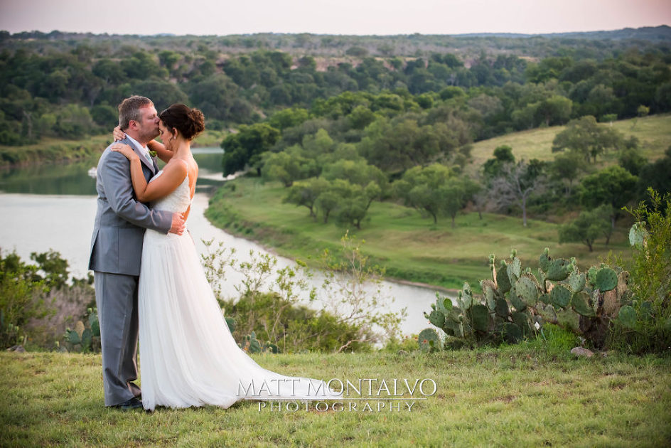 river house on the Pedernales
